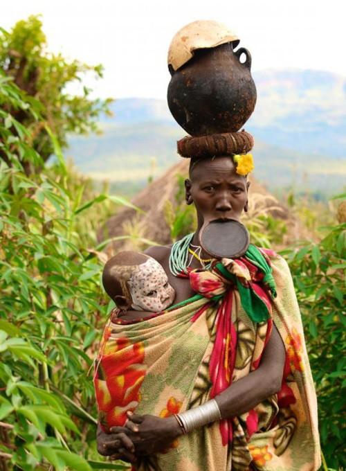 Сурма - уникальное племя