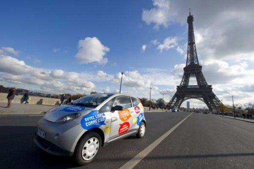 В Париж на машине