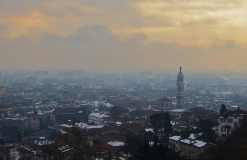 Бергамо. Вид со Старого города