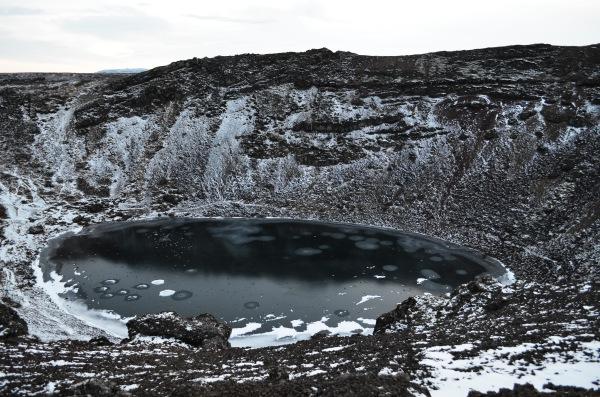 Озеру Кериз в кратере потухшего вулкана