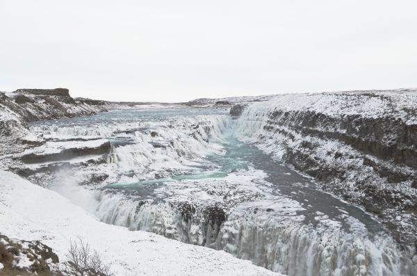 Самый живописный водопад - знаменитый Гутльфосс