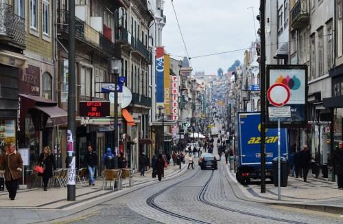 Улица в центре Порту